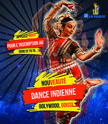 Flyers danse indienne