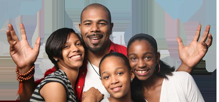 black-family-banner
